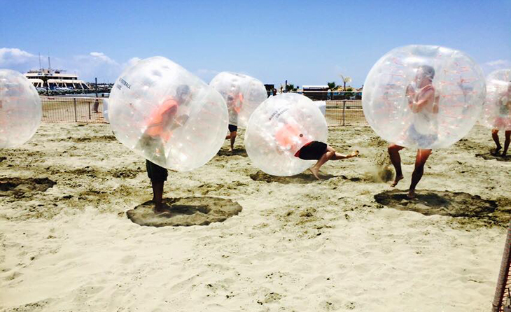 Bubble football limassol