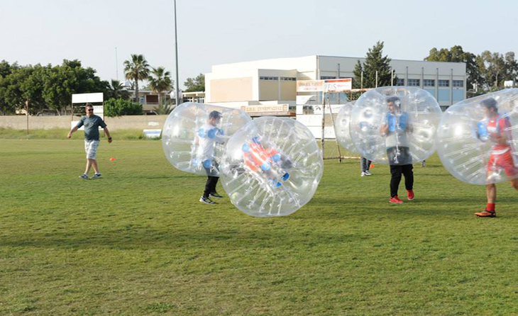 bubble football larnaca