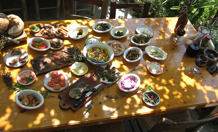 meze-dishes