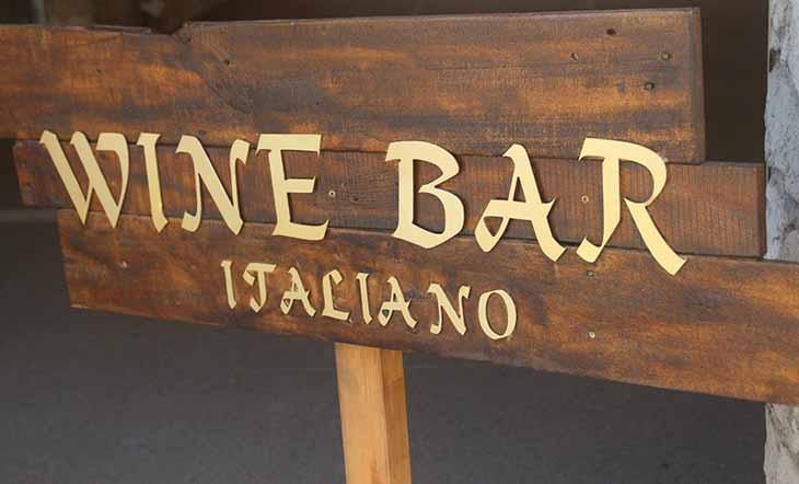 Wine bar italiano 5